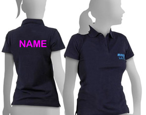 ladies hen polo shirts